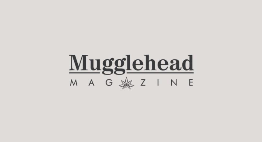 Mugglehead logo - beige